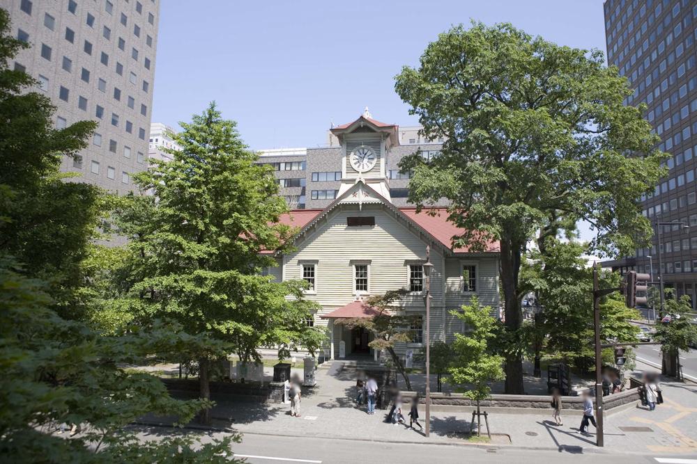 札幌市時計台(さっぽろしとけいだい)