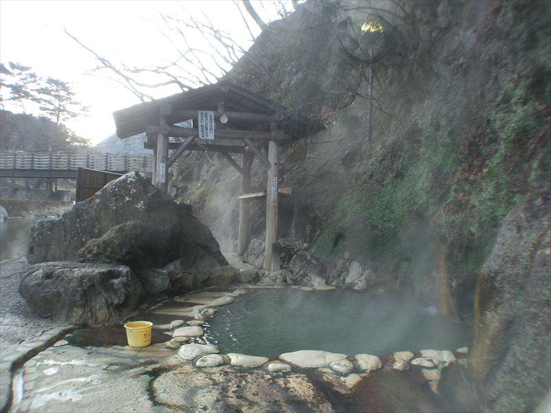塩原温泉郷 福渡温泉 岩の湯