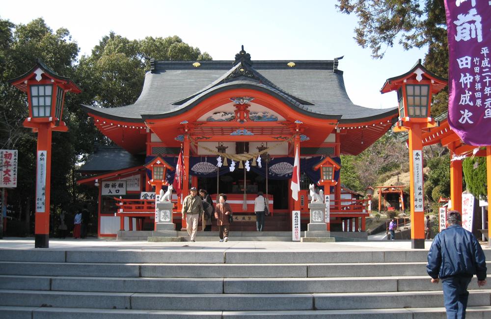 扇森稲荷神社(おうぎもりいなりじんじゃ)
